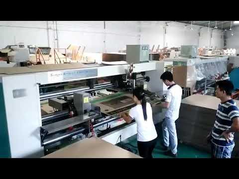 High Speed Double Head Box Stitching Machine