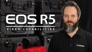 Video 6 of Product Canon EOS R5 Full-Frame Mirrorless Camera