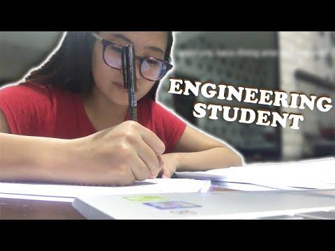 FINALS WEEK OF AN ENGINEERING STUDENT! (ONLINE CLASSES) | Angel Egam