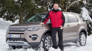 Land Rover Discovery Sport 2015 Test - Fahrbericht