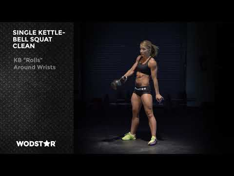 Kettlebell Squat Clean