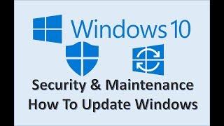 Windows 10 - Update & Security - How to Enable Defender Settings - Virus & Antivirus in Microsoft OS