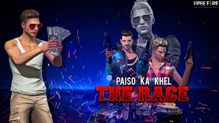 THE RACE || PAISO KA KHEL || FREE FIRE SHORT ACTION MOVIE || RISHI GAMING