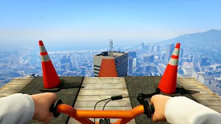 INSANE FIRST PERSON STUNT RACES! (GTA 5 Funny Moments)