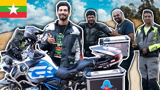 WE MET INDIAN BIKERS IN MYANMAR 🇲🇲(Superbike Riders)