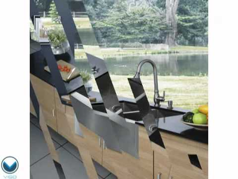 Video for 36-inch Chisholm Stainless Steel Double Bowl Farmhouse Kitchen Sink