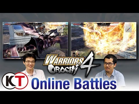 Warriors Orochi 4 - Online Multiplayer Trailer thumbnail