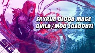 Skyrim Blood Mage Build! Mod List! PS4!