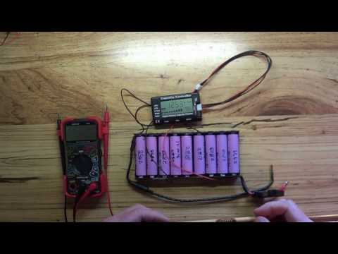 DIY Solar And 18650 Lithium Battery Pack   Experimenting with a 24 Volt Pack Pt 1
