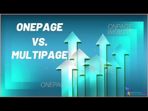 , title : 'Onepager - Video Beispiele - Was ist ein Onepager? Tutorial (2019)