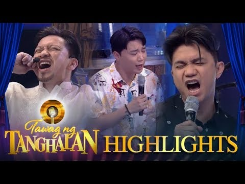 "Tawag ng Tanghalan: The TNT hosts belt their own version of ""Faithfully"""