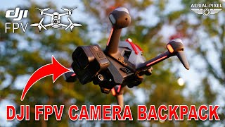 DJI FPV Camera Backpack GoPro Mount and Battery Protector