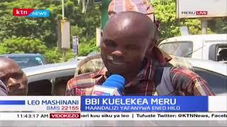 BBI kuelekea Meru: Wananchi watoa hisia zao za mkutano wa BBI
