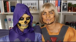 Superhero & Villain Halloween Makeup Tutorial