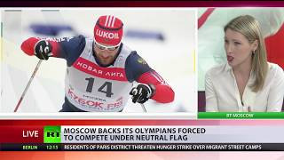 Putin backs Russian athletes forced to compete in Olympics under neutral flag