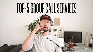 Top 5 Free Apps for Conference Calls 📹 | Video Chat Services for Remote Employees