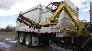 Service Shack Ep. 14 - How To Operate A Heil DuraPack Rapid Rail Automated Side Load Garbage Truck