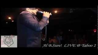 Al B.Sure! 'Right Now' LIVE @ Taboo 2