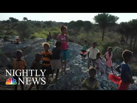 NBC News Exclusive: Child Laborers Working For Pennies In African Mines | NBC Nightly News