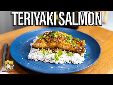 Cookin With Uncle AB: Teriyaki Salmon