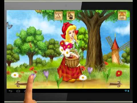 The Little Red Riding Hood Interactive Book for Android