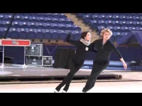 Progressive: Charlie White/ Meryl Davis Ice Dance Rehearsal
