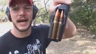 Можно ли пробить титан пулей!титановая пластина!убойное ранчо!