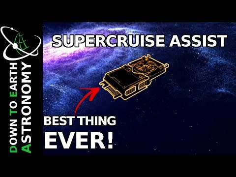 Supercruise Assist is the best thing EVER! | Elite Dangerous