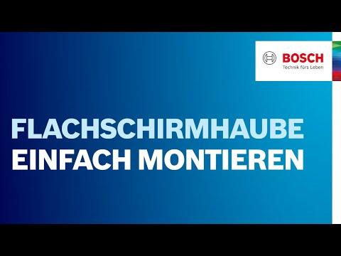 Bosch EasyInstallation - Das Montagesystem für Flachschirmhauben