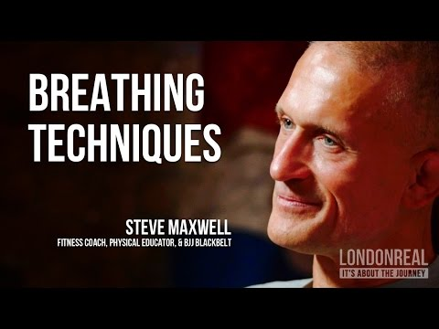 HOW TO BREATHE - Steve Maxwell on Gracie Breathing Techniques