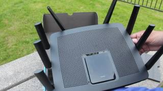Linksys EA9500 Router unboxing and review