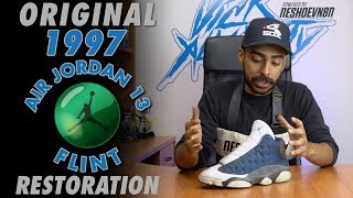 Original 1997 Air Jordan 13 Flint Restoration by Vick Almighty