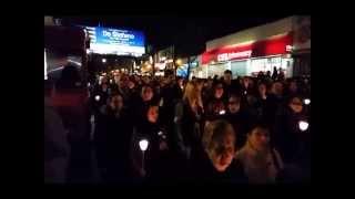 Greek Easter Good Friday Epitafios in Astoria, Queens, NY 4/18/2014