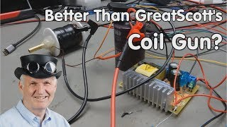 #221 Better than GreatScott's Coil Gun? A true story, how-to not do it