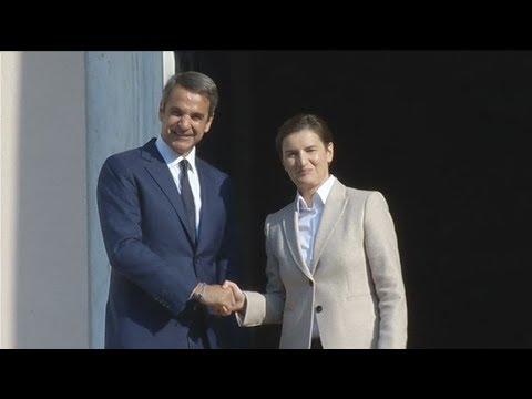 Συνάντηση Π/Θ με την ομόλογο του της Σερβίας