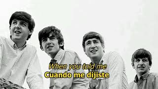 Oh! Darling - The Beatles (LYRICS/LETRA) [Original]