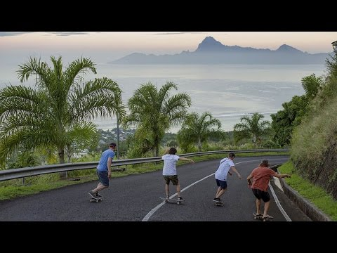 Skating In Tahitian Paradise  |  SKATE TAHITI Part 1