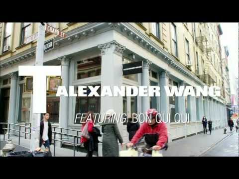 The Spring 2013 T by Alexander Wang Ad (with A$AP Rocky, Natasha Lyonne)