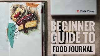 Beginner's Guide To Food Journal | Lollalane | Travelers Notebook
