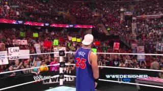 2012  WWE John Cena Returns As  Doctor Of Thuganomics    WWE RAW 03 12 12 HD
