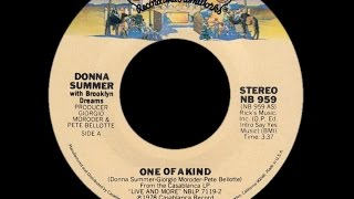 Donna Summer ~ One Of A Kind 1978 Disco Purrfection Version