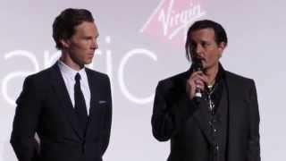 """Бенедикт Камбербэтч, Johnny Depp and Benedict Cumberbatch talks about """"Black Mass"""""""