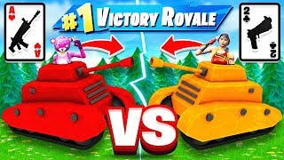 WAR! Card Game BATTLE! *NEW* Game Mode in Fortnite