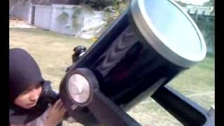 preview picture of video 'Solar Eclipse Karachi Pakistan'