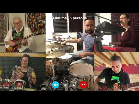 Adouma - Carlos Santana tribute band Quintetto Rock / Latin Rock. Gorizia Musiqua