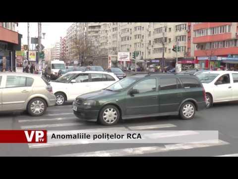Anomaliile polițelor RCA