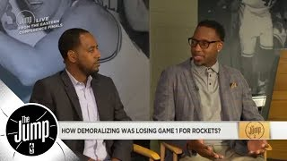 Tracy McGrady: Kevin Durant is a 'big problem' for the Rockets | The Jump | ESPN - Video Youtube