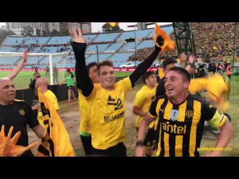 """""""Festejo Peñarol BiCampeón Uruguayo"""" Barra: Barra Amsterdam • Club: Peñarol"""