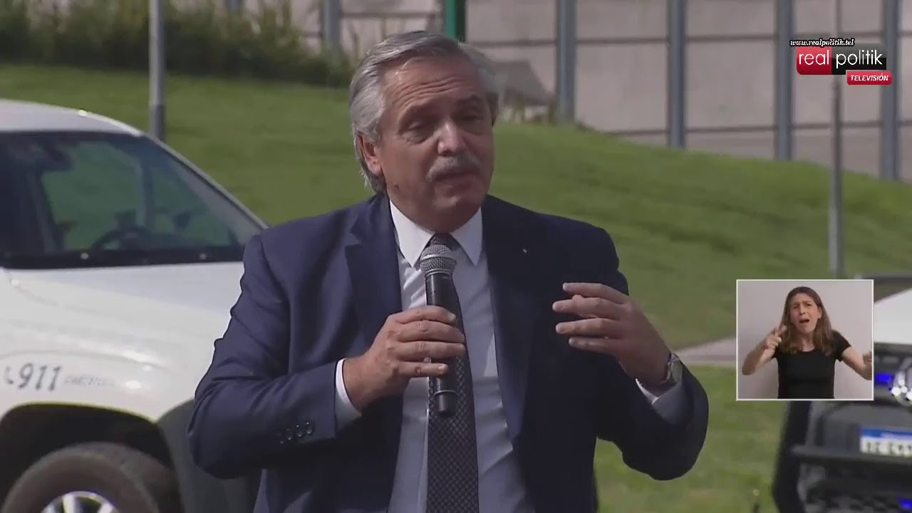 """Merlo: Alberto Fernández encabeza el lanzamiento del programa """"Paradas Seguras"""""""