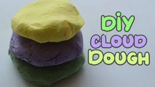 DIY Cloud Dough | DIY Super Soft Play Dough! No Cook, 2 Ingredients! Play Dough Recipe